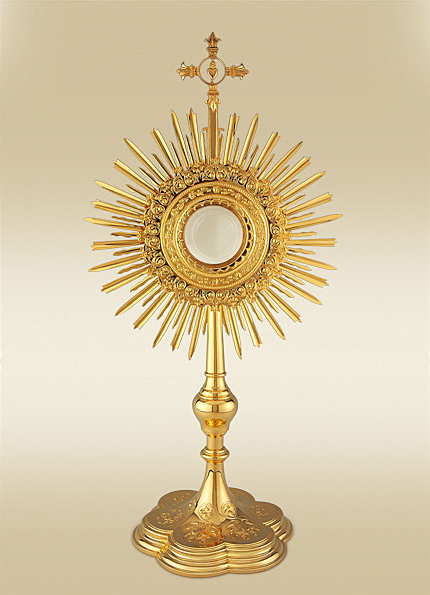 monstrance immaculate conception school